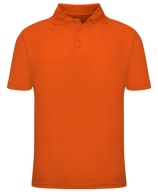 Short Sleeve School Uniform Polo - Orange