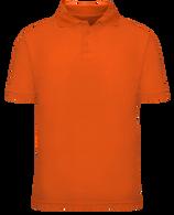 Short Sleeve School Uniform Polo - Orange