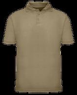 Short Sleeve School Uniform Polo - Khaki