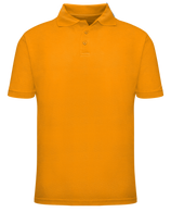 Short Sleeve School Uniform Polo - Gold