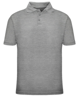 Short Sleeve School Uniform Polo - Grey