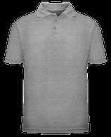 Short Sleeve School Uniform Polo - Grey
