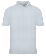 Toddler Short Sleeve School Uniform Polo - White