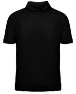 Adult Short Sleeve Polo - Black