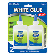 1.25oz White Glue - 2 pack