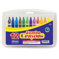 Jumbo Crayons - 12 count