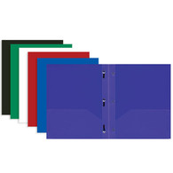Plastic Folders with 3 Prongs