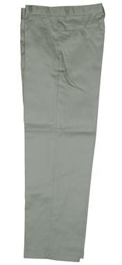 Khaki Flat Front Pants