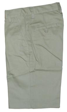 Khaki Flat Front Shorts