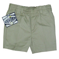 Toddler Khaki Shorts - Front