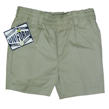 Toddler Khaki Shorts - Front