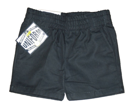 Toddler Navy Shorts - Front