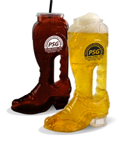 46oz Plastic Cowboy Boot