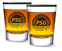 2oz Whiskey Shot Glass