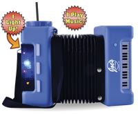 100oz Plastic Light-Up & Sound Accordion