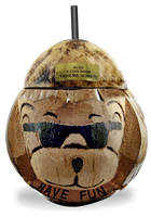 16oz Bear with Sunglasses Coconut