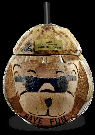16oz Bear With Sunglasses Coconut Progressive Specialty