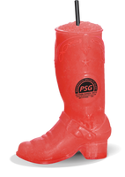 18oz Plastic Cowboy Boot