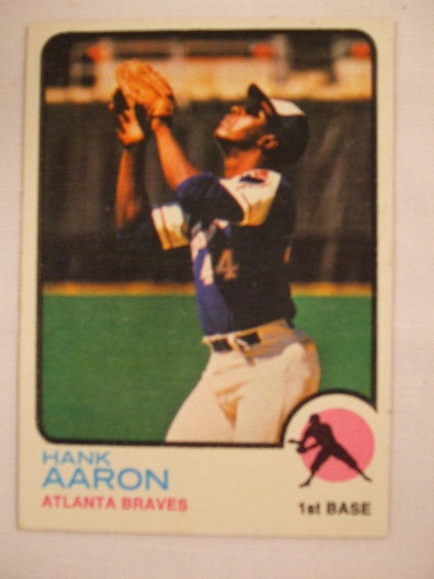 1973 Topps #100 Aanon Front