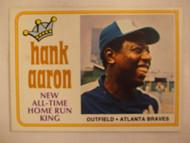 1974 Topps #1 Hank Aaron EXMT