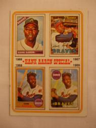 1974 Topps #5 Hank Aaron Special EX