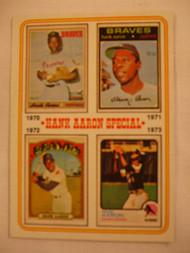 1974 Topps #6 Hank Aaron Special EXMT