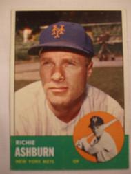 1963 Topps #135 Richie Ashburn EXMT