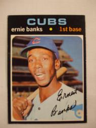 1971 Topps #525 Ernie Banks EX
