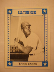 1980 TCMA All Time Cubs #12 Ernie Banks MINT
