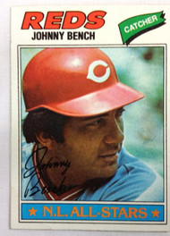 1977 Topps #70 Johnny Bench EX