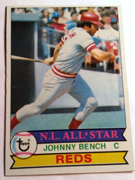 1979 Topps #200 Johnny Bench EX