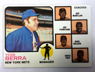 1973 Topps #257 Yogi Berra MG (Orange) EXMT