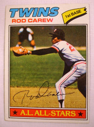1977 Topps #120 Rod Carew VG