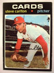 1971 Topps #55 Steve Carlton EX