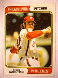 1974 Topps #95 Steve Carlton VGEX