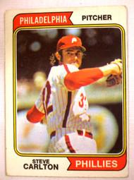 1974 Topps #55 Steve Carlton VG