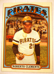 1972 Topps #309 Roberto Clemente EXMT