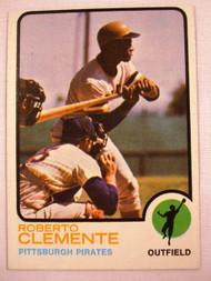 1973 Topps #50 Roberto Clemente EX