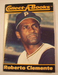 1990 Collect-A-Book #35 of 36 Roberto Clemente NRMT+