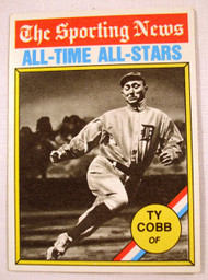 1976 Topps #346 The Sporting News All-Time All-Stars Ty Cobb EXMT