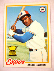 1978 Topps #72 Andre Dawson EXMT Expos