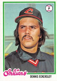 1978 Topps #122 Dennis Eckersley EX