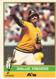 1976 Topps #405 Rollie Fingers VGEX