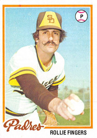 1978 Topps #140 Rollie Fingers EX