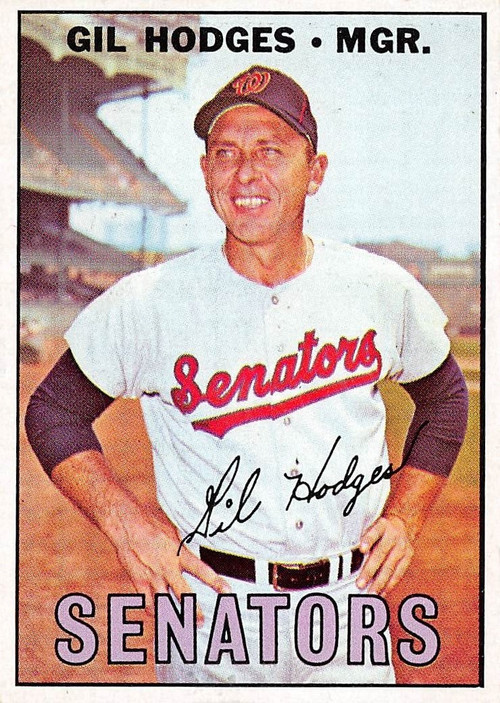 1967 Topps #228 Gil Hodges EXMT (67T228EXMT)
