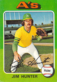1975 Topps #230 Jim Hunter VG (75T230VG)