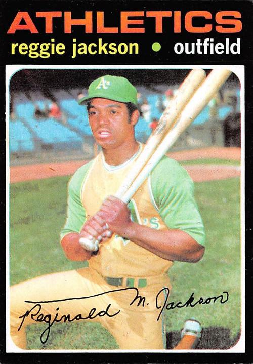 1971 Topps 20 Reggie Jackson Ex