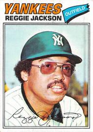 1977 Topps #10 Reggie Jackson VGEX (77T10VGEX)