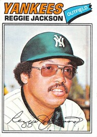 1977 Topps #10 Reggie Jackson EX (77T10EX)