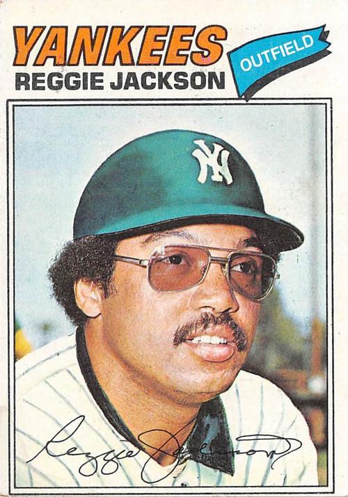 1977 Topps #10 Reggie Jackson VG (77T10VG)
